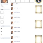 Lyndon B. Johnson Presidential Fakebook Template