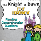 Magic Tree House #2 Knight at Dawn Reading Response Unit {