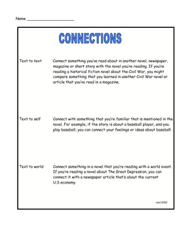 MAKING CONNECTIONS PACKET