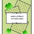 MARCH BALANCED LITERACY GRAMMAR STATION CARDS (set 3)