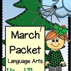 MARCH Language Arts Activity Packet