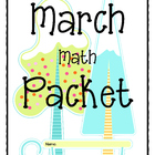 MARCH Math Activity Packet