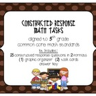 MATH 5th Grade CCSS Constructed Response Tasks  Operati