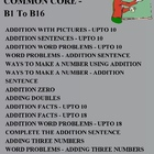 MATH COMMON CORE GRADE 1 - B1 To B16 ADDITION SENTENCES EL