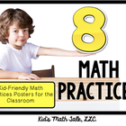 "MATH Common Core ""8 math practices""- kid-friendly question"