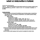MATH Four Ways to Write a Number - Standard, Expanded, Wor