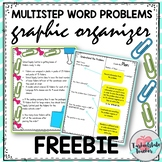 ~~MATH: Multi Step Problem Solving FREEBIE~~w/directions