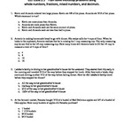 MATH SKILL Solving Multi-Step Story Problems Involving Fra