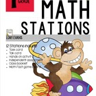 MATH STATIONS - Common Core - Grade 1 - MAY