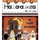 MATH STATIONS - Halloween Hallapolooza