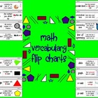 MATH VOCABULARY FLIP CHARTS