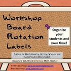 "MATH common core and beyond- Creative ""Math Workshop"" boar"