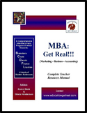 """MBA: Get Real!!! Complete Teacher Resource Manual"" -  Pap"