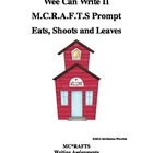 MCRAFTS Writing Prompt for Eats, Shoots and Leaves