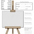 ME, Monthly! Monthly Worksheet to measure height, weight,