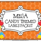MEGA Candy Theme Label&#039;s Pack