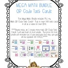 MEGA MATH BUNDLE - QR Code Task Cards