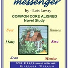MESSENGER Common Core Aligned Novel Study
