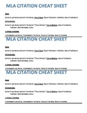 MLA Citation Practice