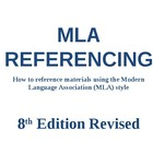 MLA Referencing PowerPoint Presentation - Revised 2013