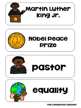 MLK ABC Order Word Sort