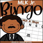 MLK Bingo: Martin Luther King, Jr. Themed Bingo Game