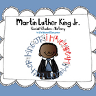 MLK Martin Luther King Jr. Social Studies - History Kinder