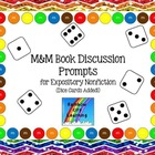 M&M Bookmarks with Discussion Prompts for Expository Nonfiction