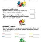 M&M Math: Estimating, Counting, Sorting, and Adding