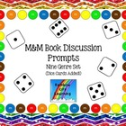 M&M Reading Discussion Prompt Bookmark Bundle