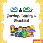 M&amp;M Sorting, Tallying &amp; Graphing Center