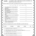 MONDAY FREEBIE! Simile Worksheet & KEY for Middle Grades