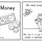 MONEY Reader/Book for Young Students: Social Studies/Math