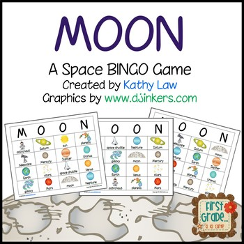 MOON--Space Bingo