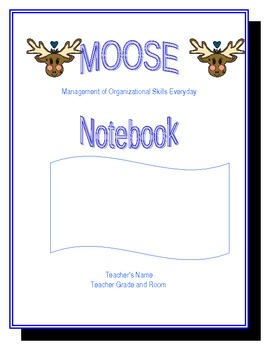 MOOSE Notebooks: Organization Binders