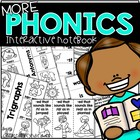 MORE Flip Flap Fun for Phonics {Interactive Notebooks}