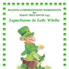 MTH43 Leprechaun In Late Winter Reading Comprehension Worksheets