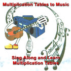 Multiplication Tables to Music - CD multiplication facts
