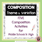 MUSIC: Composition task Theme and Variation