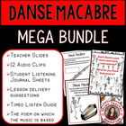 MUSIC: Danse Macabre PPT &amp; Worksheets Grades 2-4