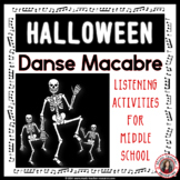 MUSIC: Danse Macabre PPT & Worksheets Grades 5-8