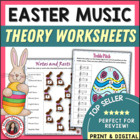 MUSIC: Easter Themed Worksheets