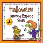 MUSIC: Halloween Listening Response Sheets