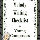 MUSIC: Melody Writing Checklist