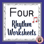 MUSIC: Rhythm Worksheets