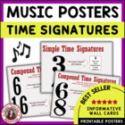 MUSIC: Time Signature Charts