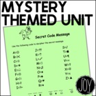 MYSTERY Unit - Smart Board, Worksheets, Unit Plans