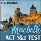 Macbeth Act 1-2 Quiz