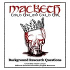 Macbeth Background Research Questions
