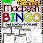 Macbeth Bingo: Instructions, Game Boards, and Call Sheet
